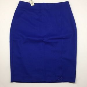 Talbots Italian Flannel Pencil skirt.  NWT! 4P